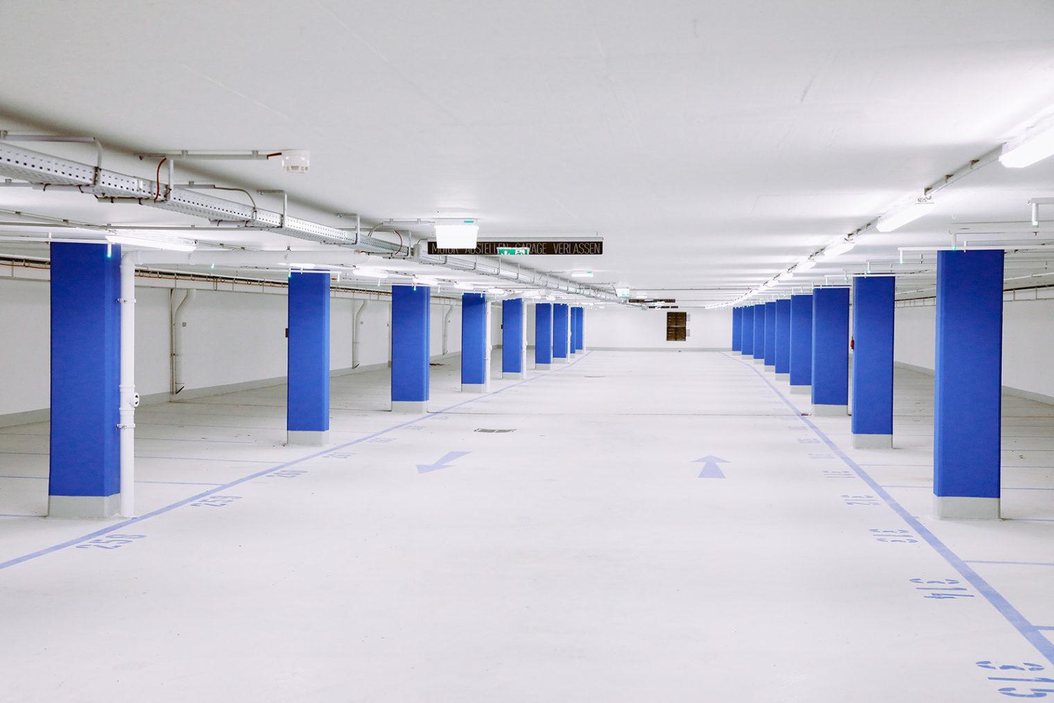 Main square underground car park