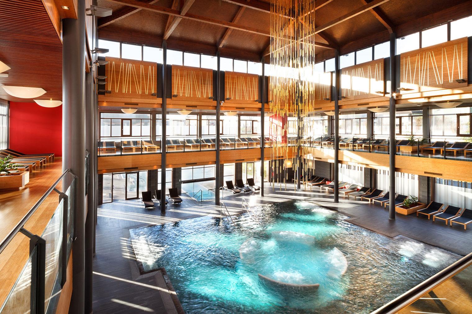 Entspannungspool Asia Spa Innenbereich