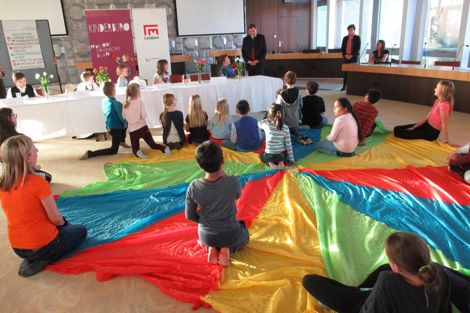 Wahl zum Kinderbürgermeister Leoben