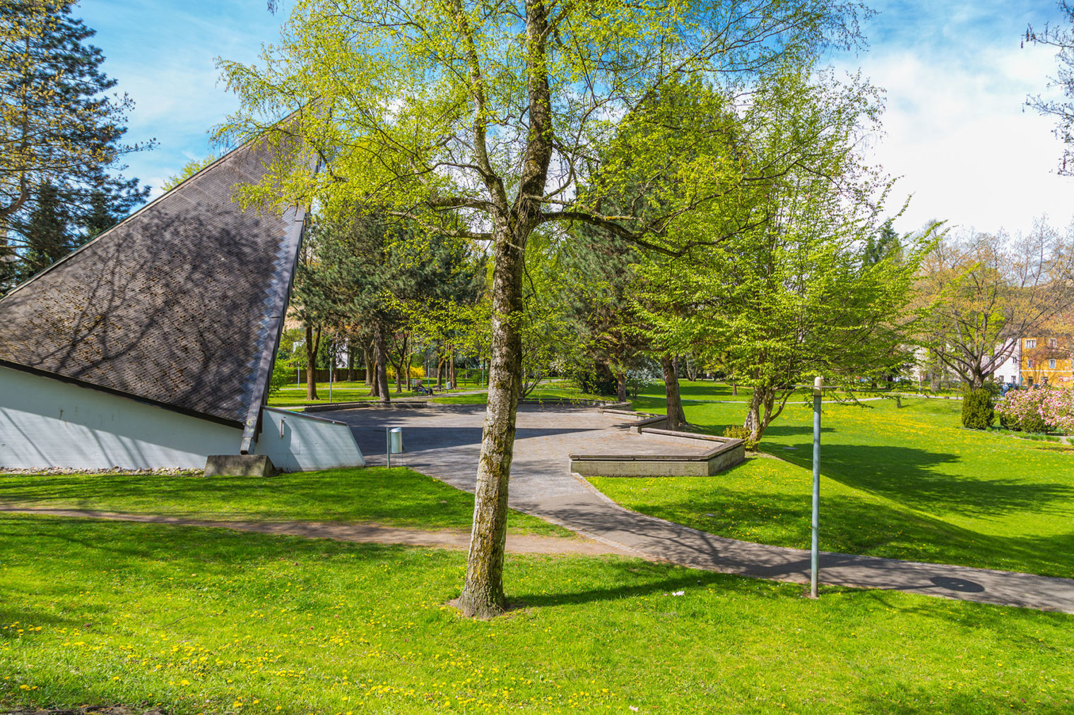 Glacis Pavillon in Leoben