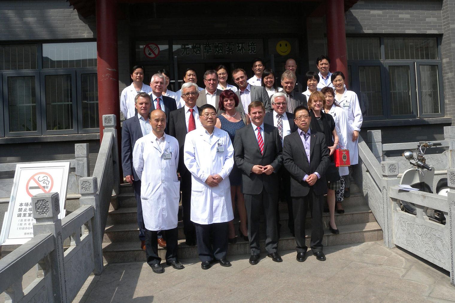Leobener Delegation in China 2014
