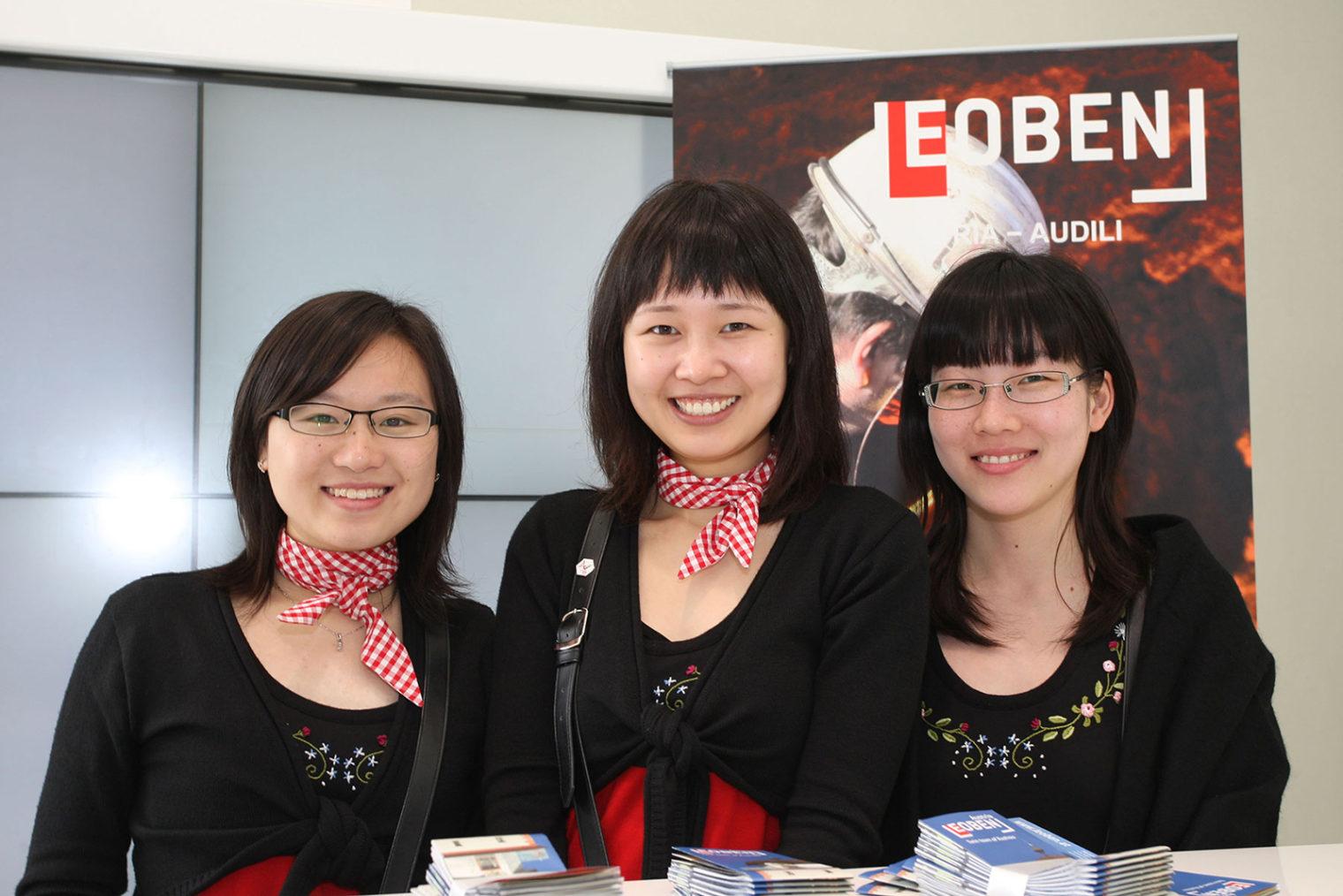 Leoben-Infostand bei der Expo
