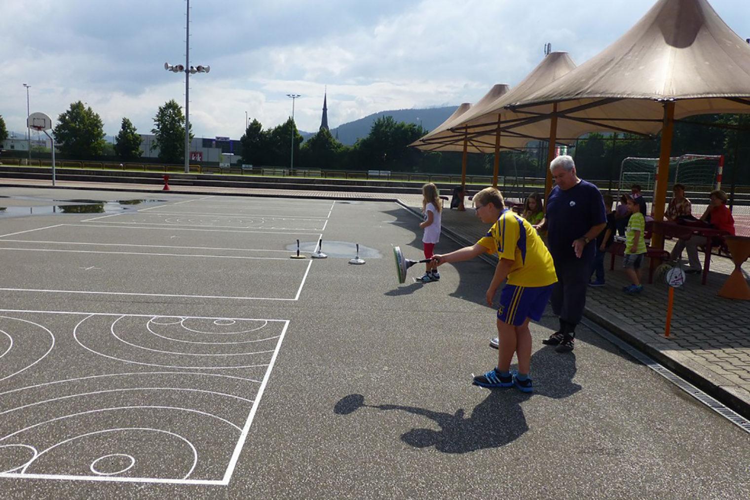 Stockschießen beim Sommersport & Spaß 2014