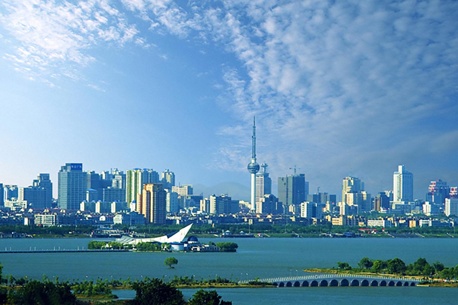 Skyline der Partnerstadt Xuzhou