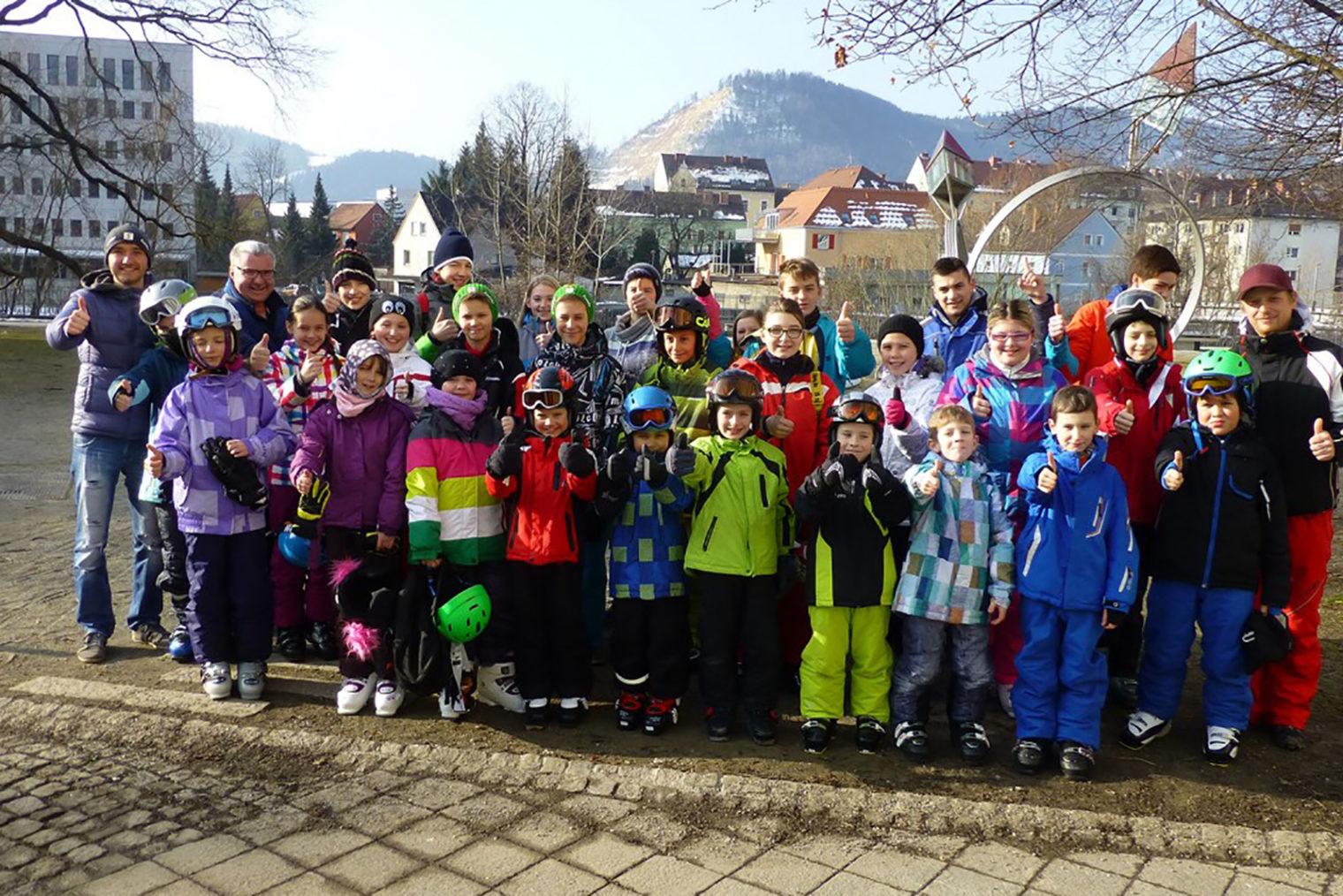 Teilnehmer beim Wintersport & Spaß 2014