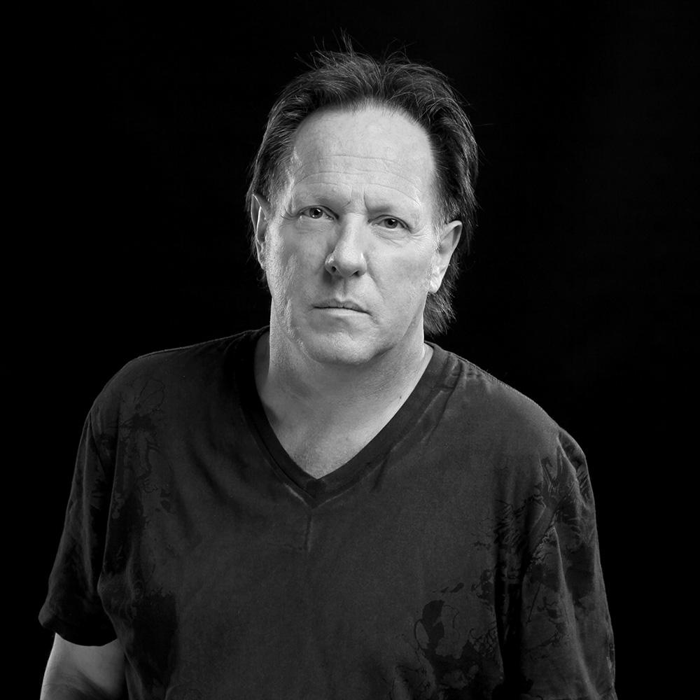 Schwarz-Weiß Porträt von Georg Brandner