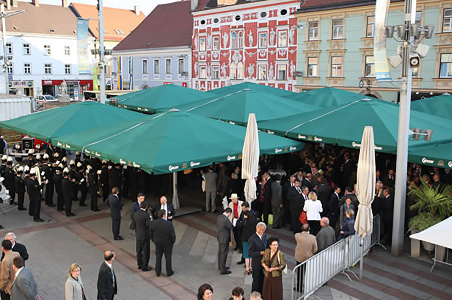 Veranstaltung am Hauptplatz Leoben