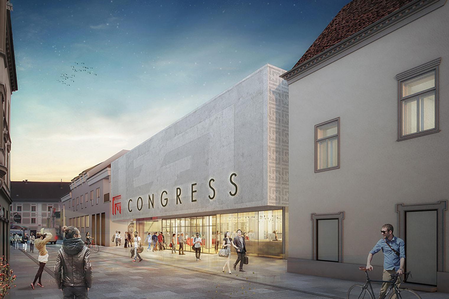 Entwurf Innerstädtisches Kongresszentrum