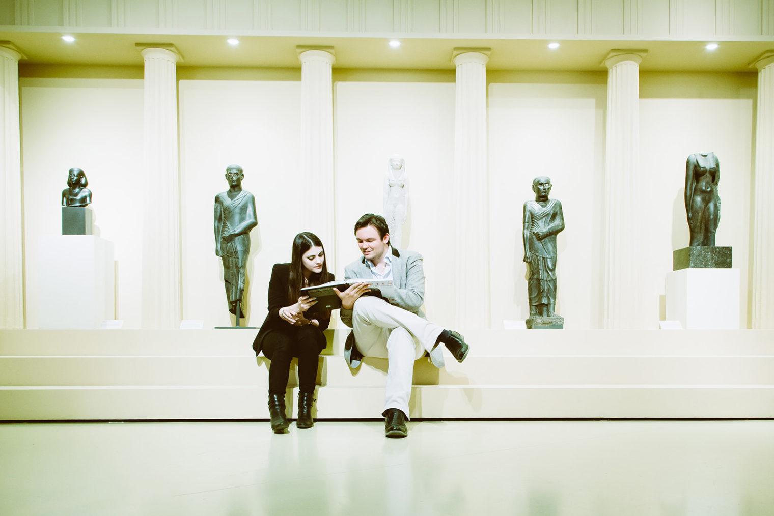 Besucher Ägypten-Ausstellung