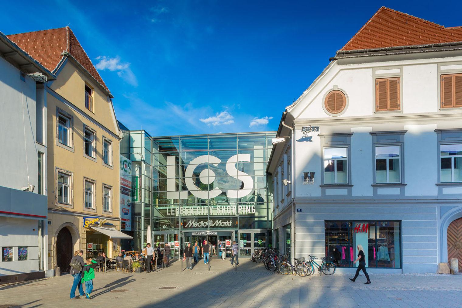 Einkaufszentrum LCS Leoben