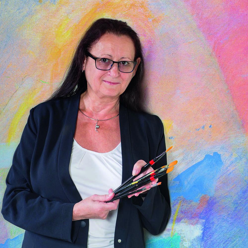 Porträt Erika Hoványi