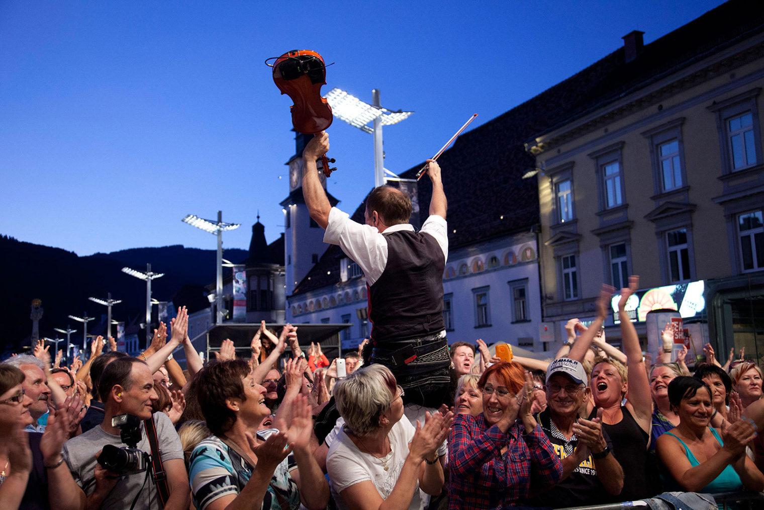 Open-Air Konzert am Hauptplatz
