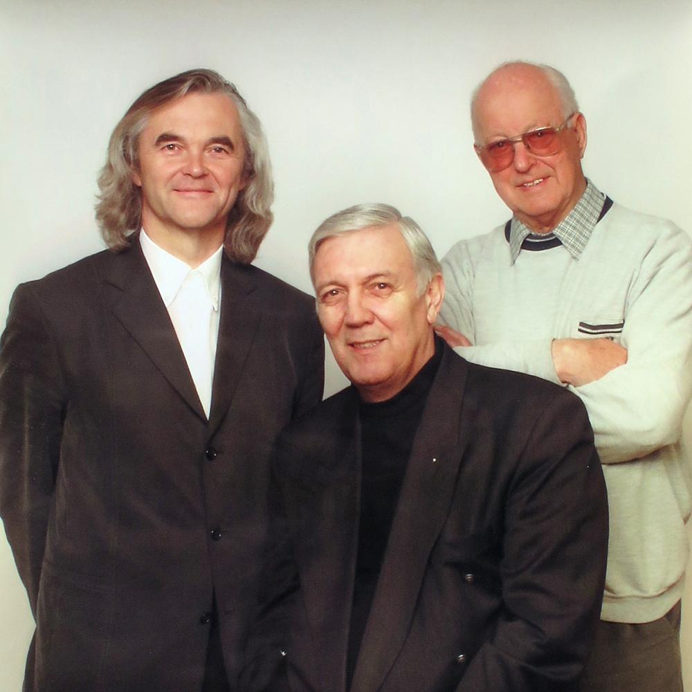 Gruppenfoto Moscher, Zander, Tinti