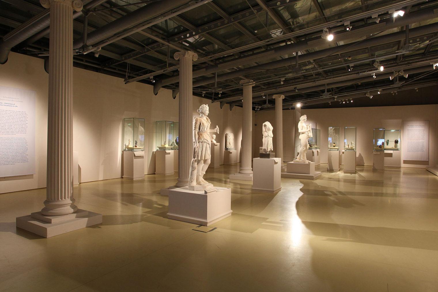Stücke der Ausstellung