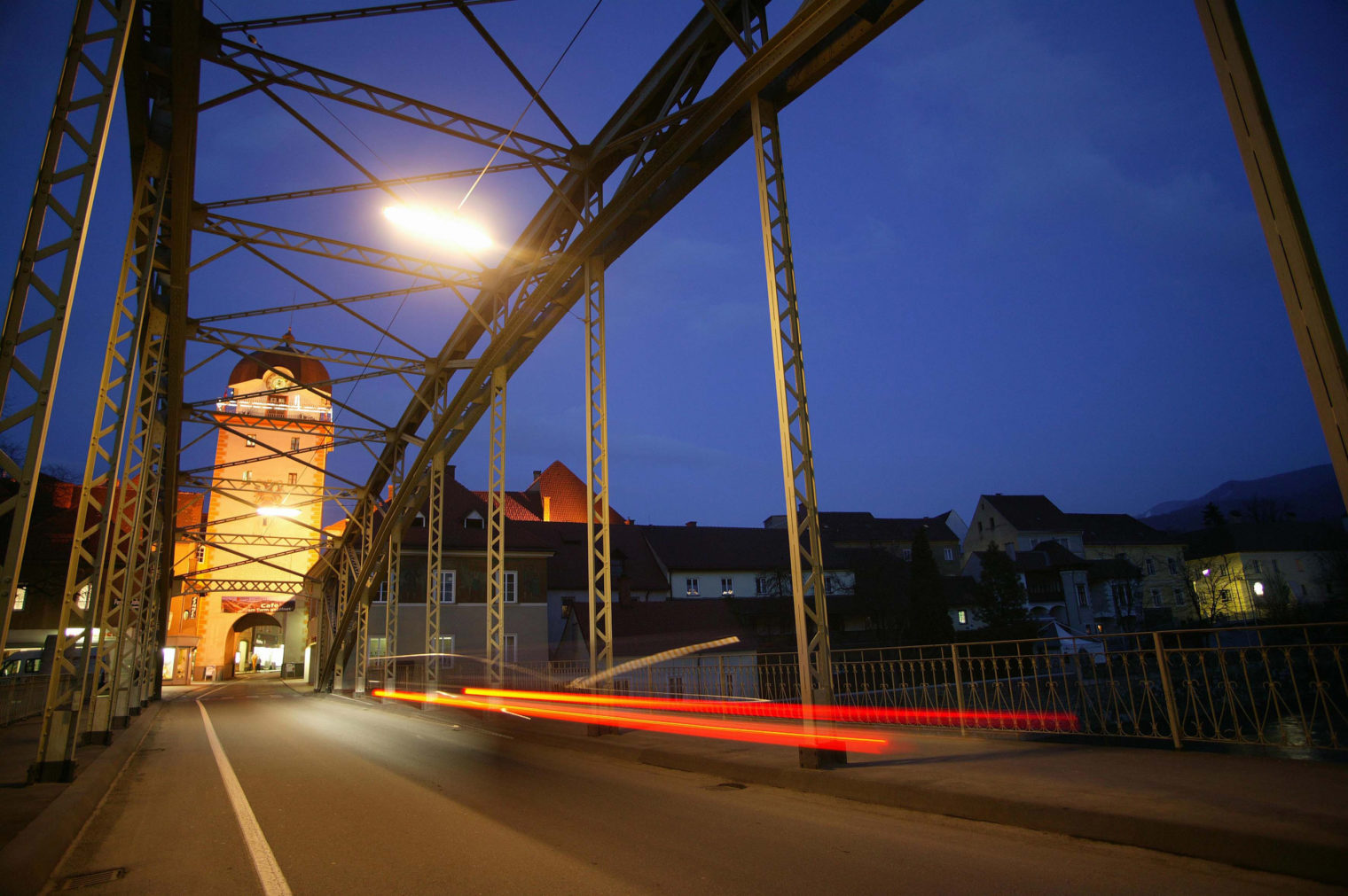 Waasenbrücke und Schwammerlturm