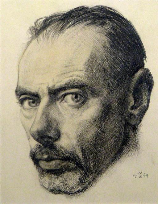 Friedrich Mayer Beck im Selbstporträt