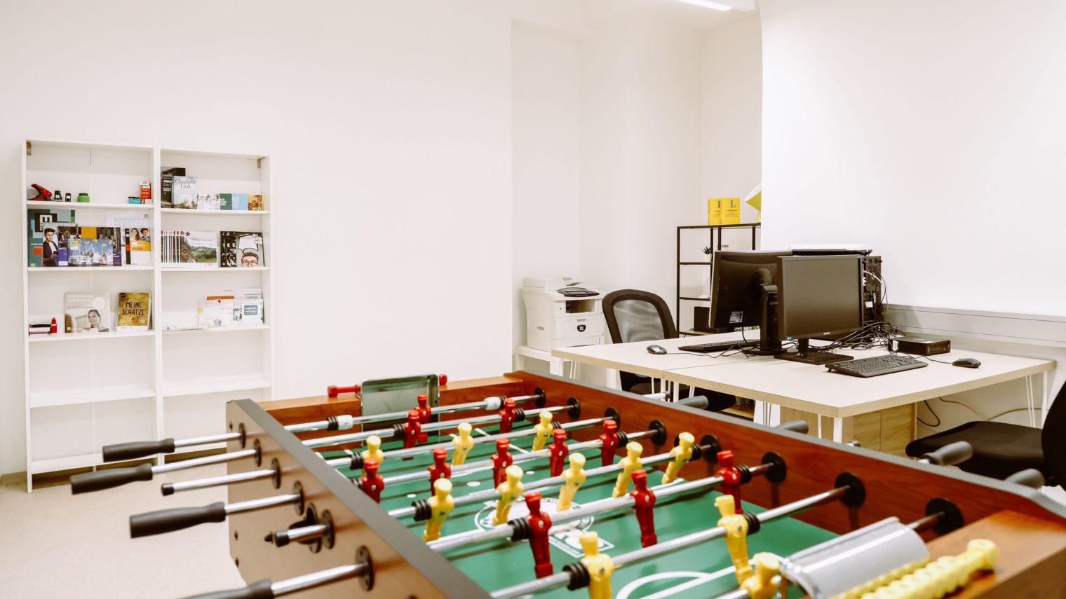 Fußballtisch Jugendcafe Leoben