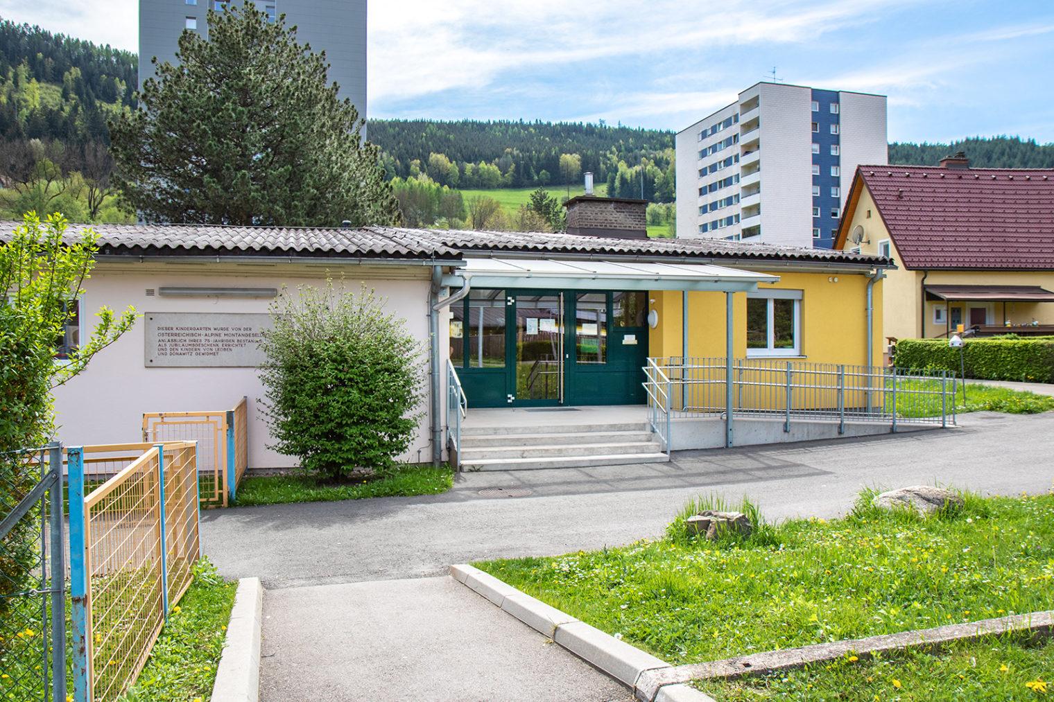 Außenaufnahme Kindergarten Donawitz II