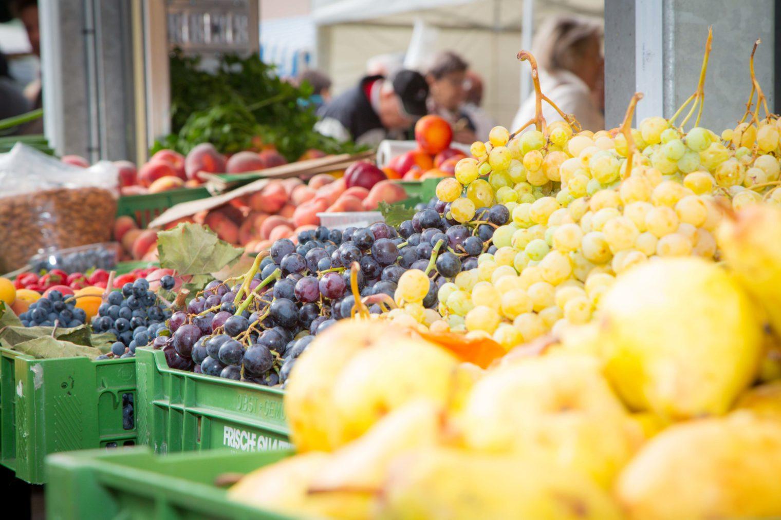 Obst am Leobener Bauernmarkt