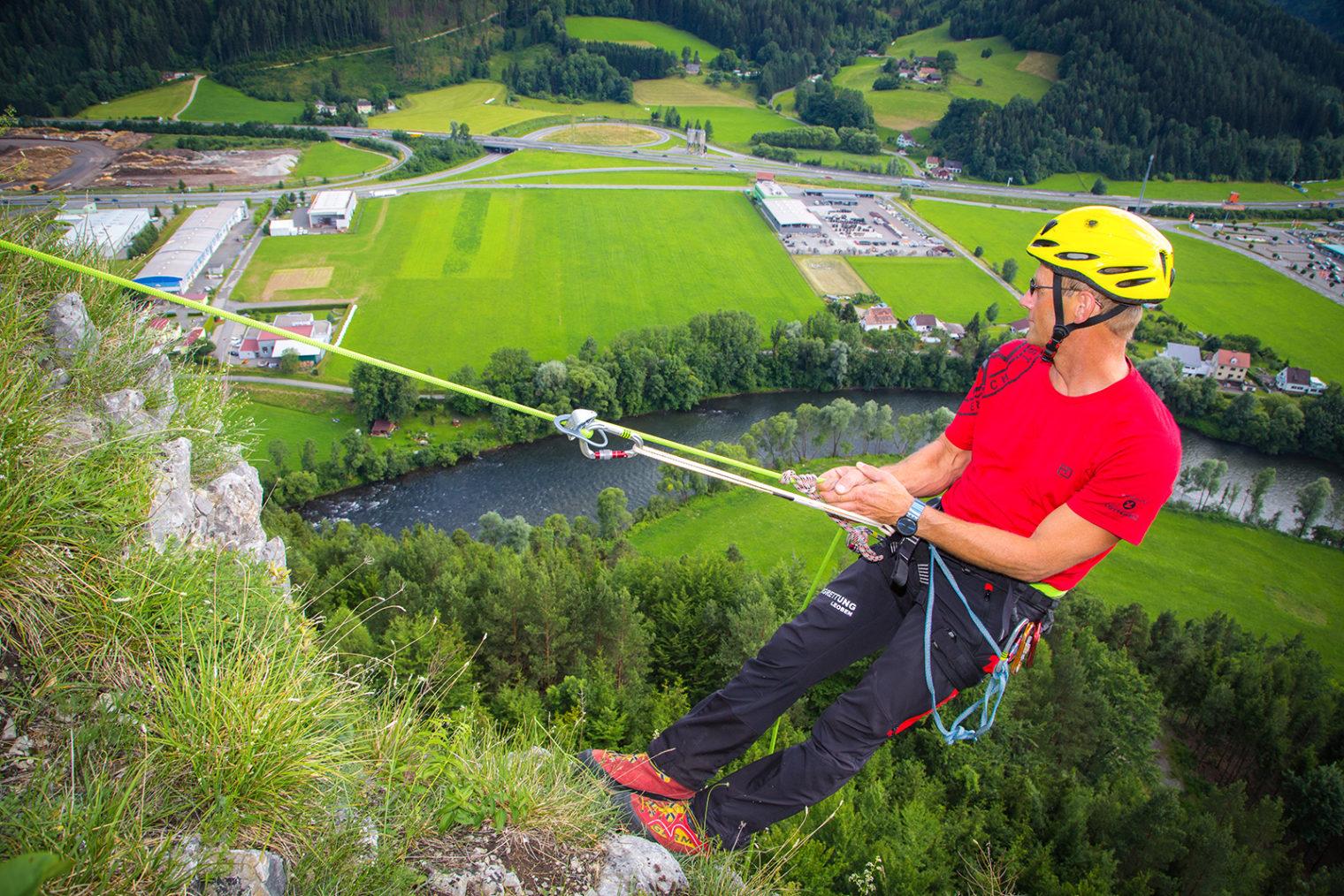 Klettern am Häuselberg