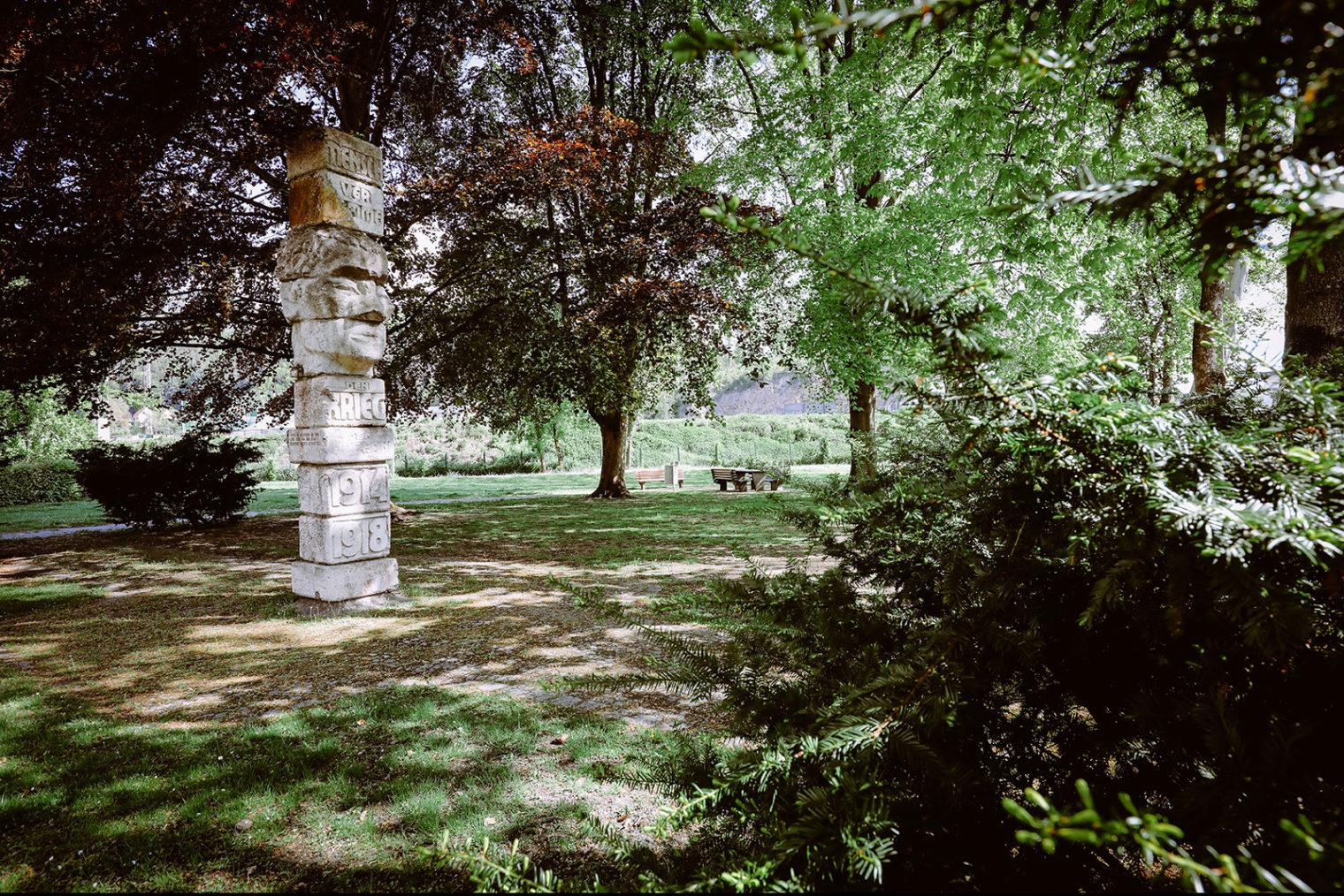 Skulptur im Pestalozzipark Leoben