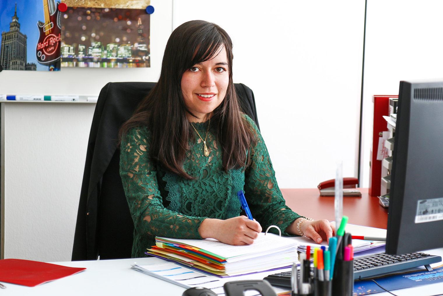 Porträt Zuzungsmanagerin Ines Peinhaupt