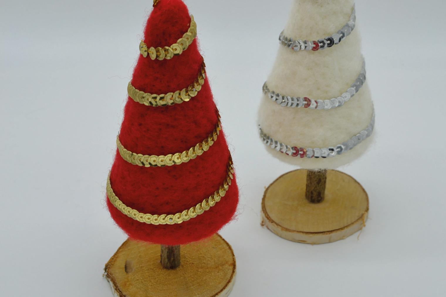 Weihnachtsbäume Kreativworkshop