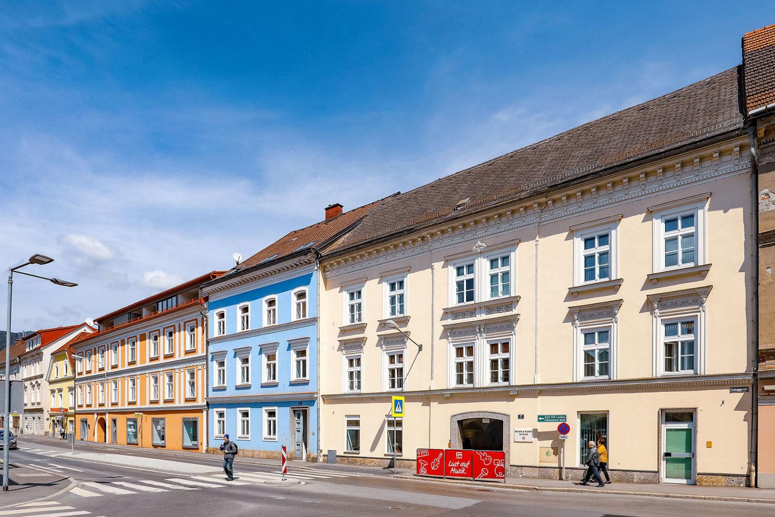 Gebäude der Musikschule Leoben