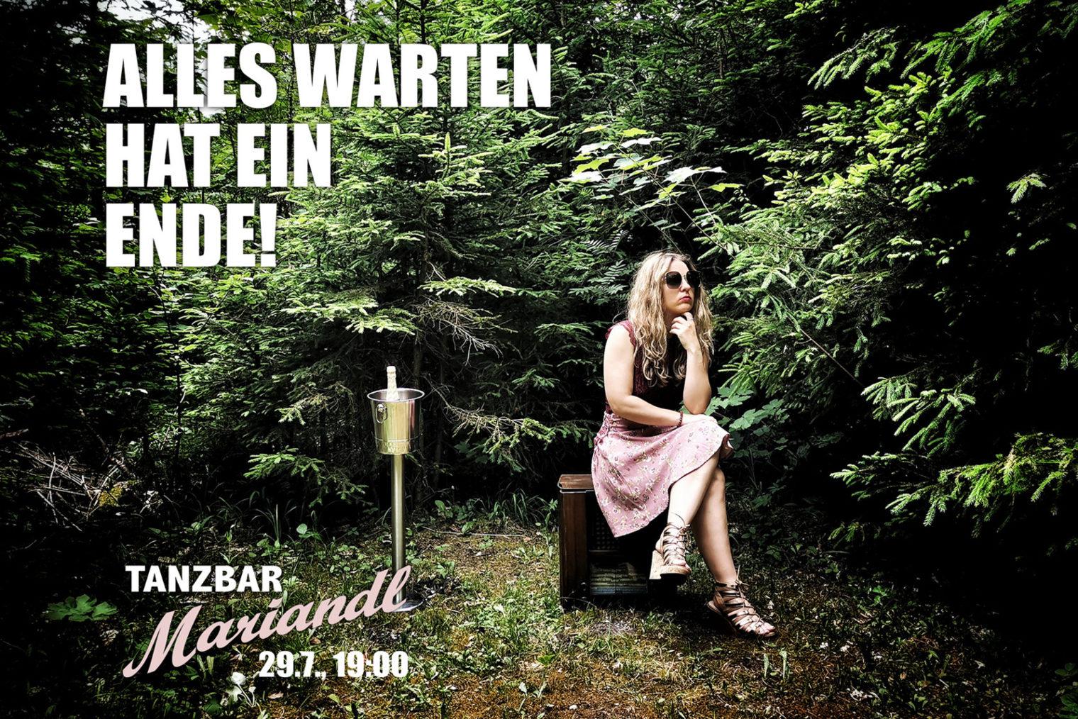 Plakat von Tanzbar Mariandl