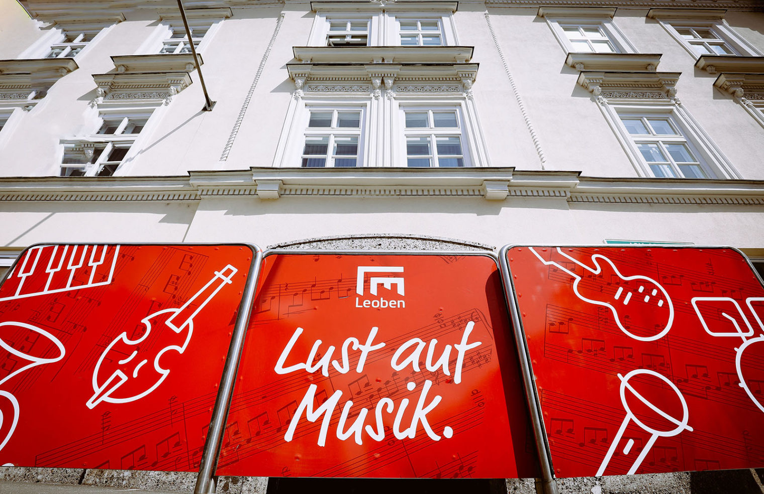 Eingang der Musikschule Leoben